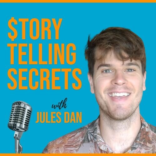 Storytelling Secrets Podcast - Jules Dan's podcast Storytelling Secrets deep dives into the storytelling aspect of content marketing.