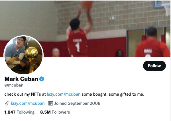 Mark Cuban on Twitter - 21 Best Twitter Accounts to Follow for Entrepreneurs