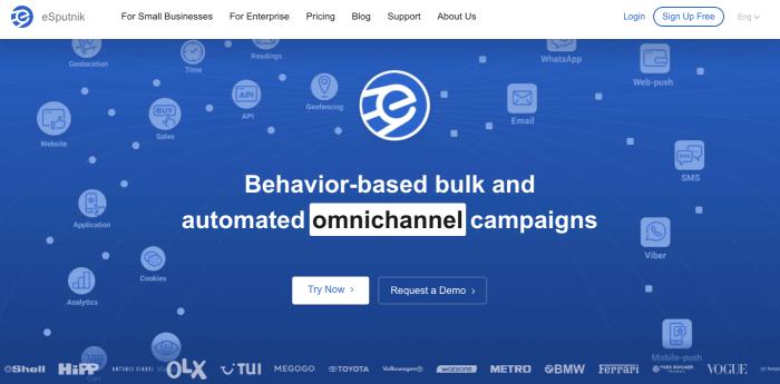 eSputnik - Mailchimp Alternative
