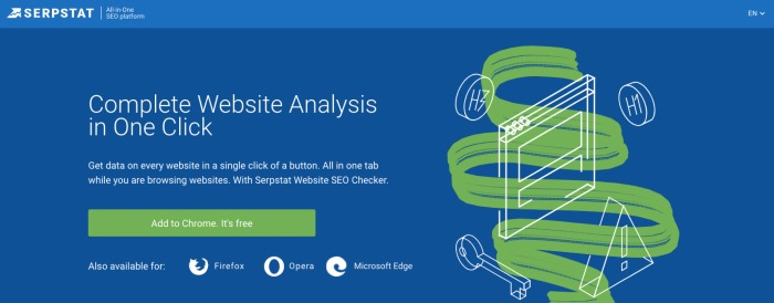 Serpstat Plugin - SEO Chrome Extension
