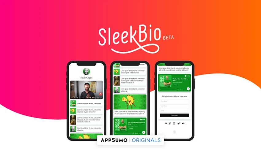 SleekBio AppSumo Deal