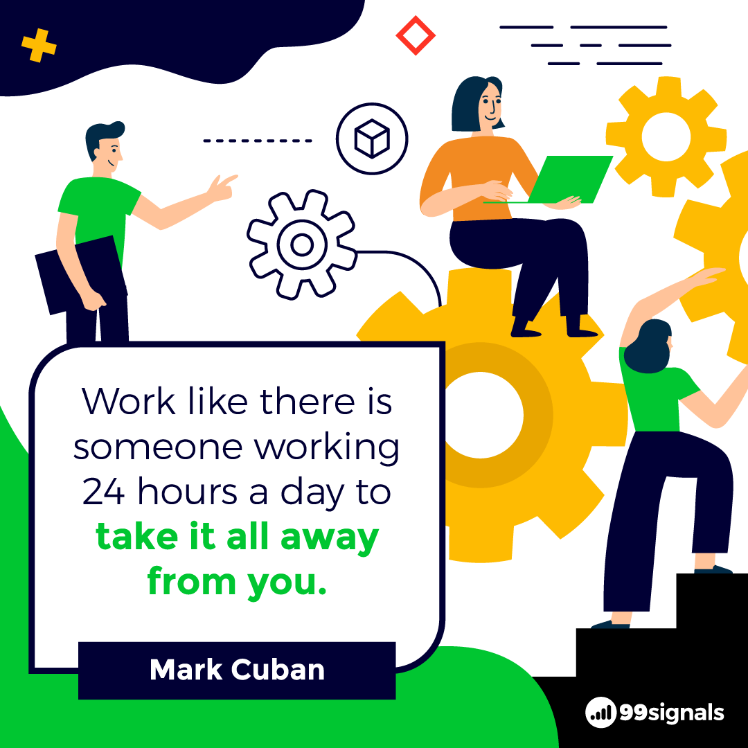 Mark Cuban Quote - Inspirational Quotes for Entrepreneurs