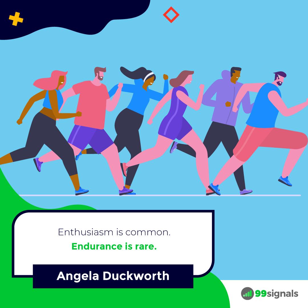 Angela Duckworth Quote - 99signals