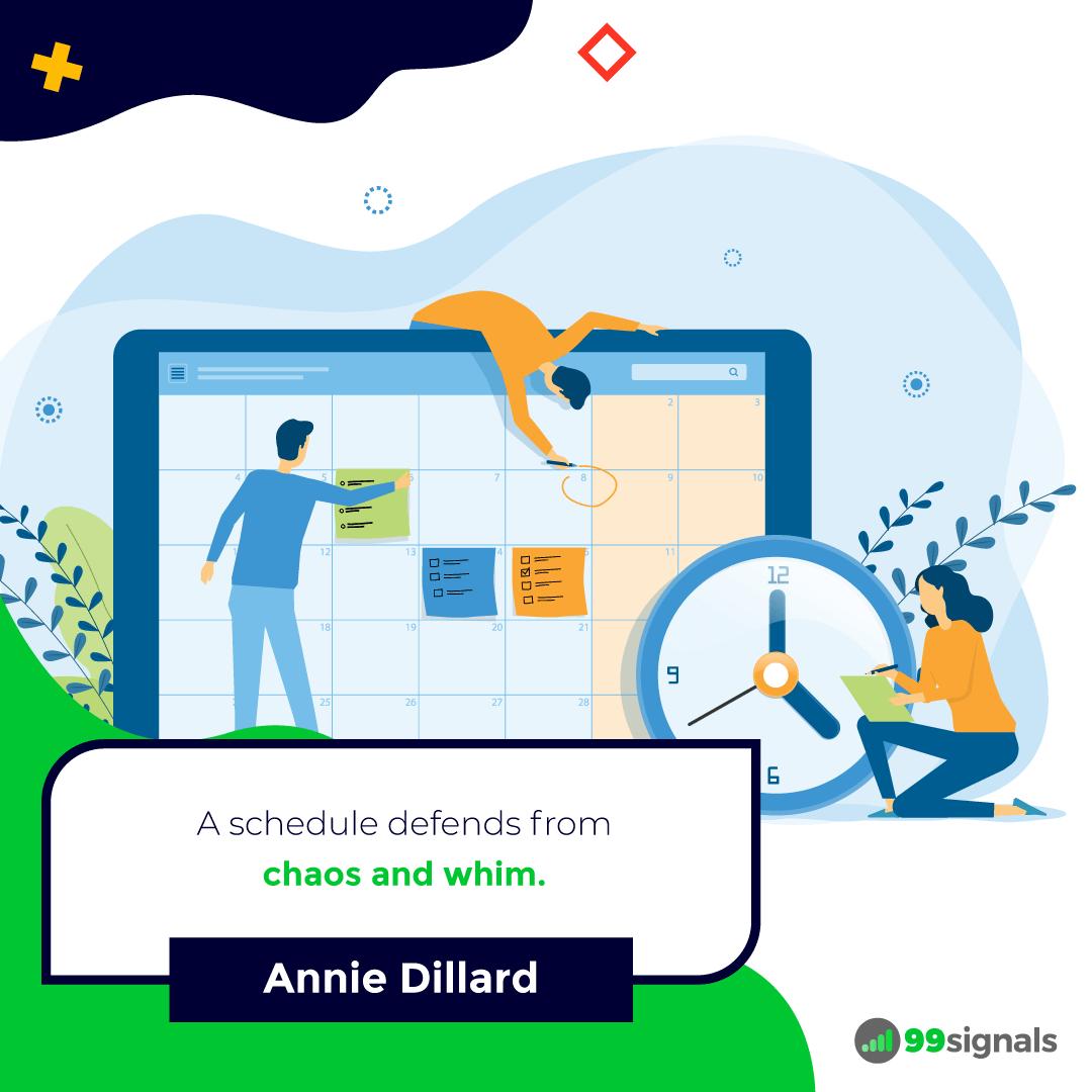 Annie Dillard Quote - 99signals