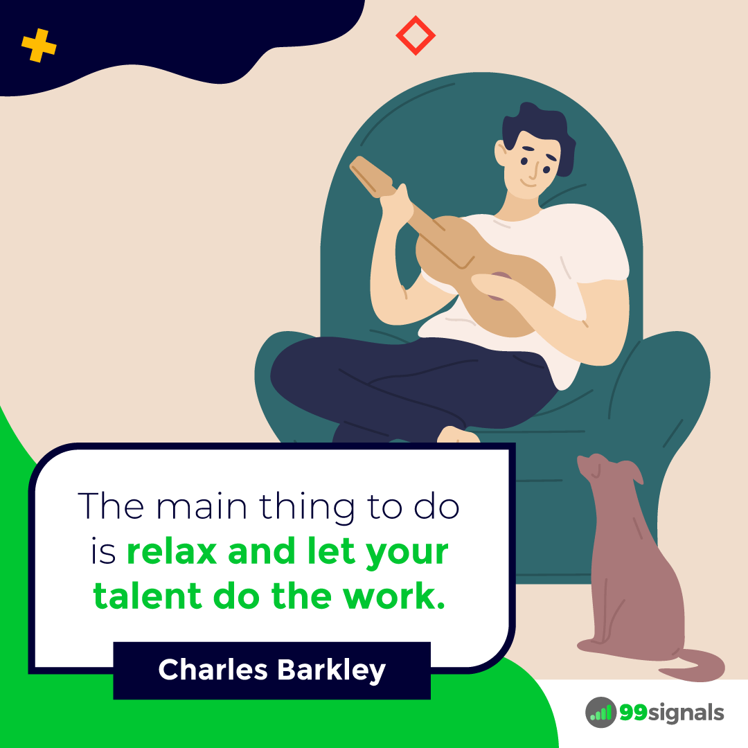 Charles Barkley Quote - 99signals