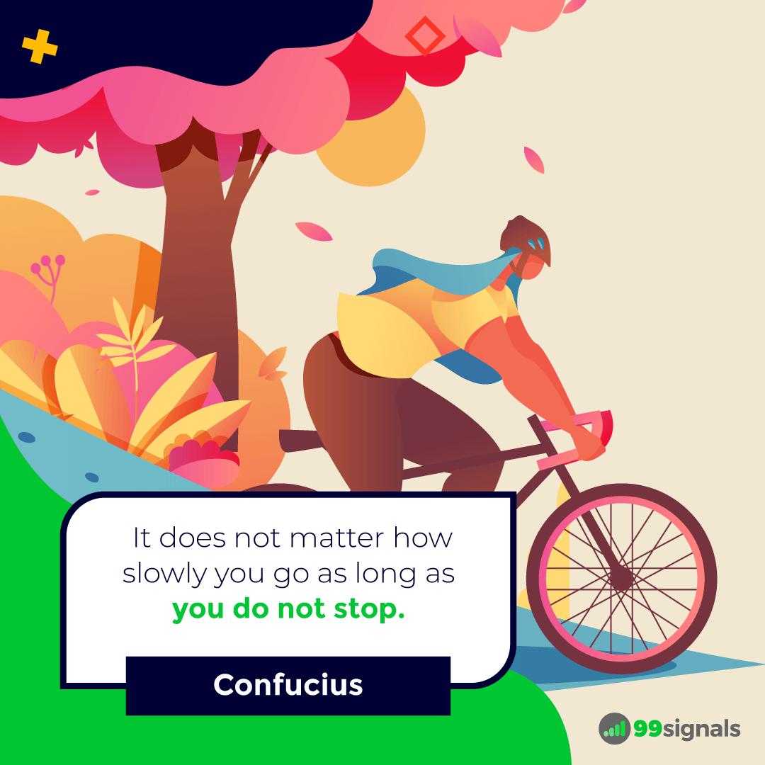 Confucius Quote - 99signals