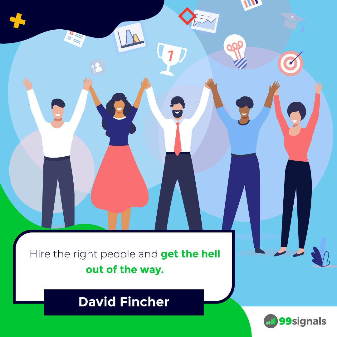 David Fincher Quote - 99signals