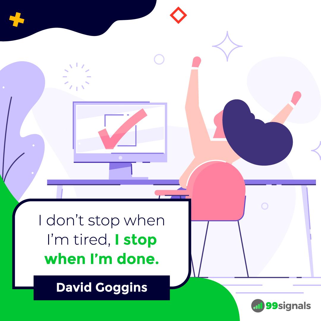 David Goggins Quote