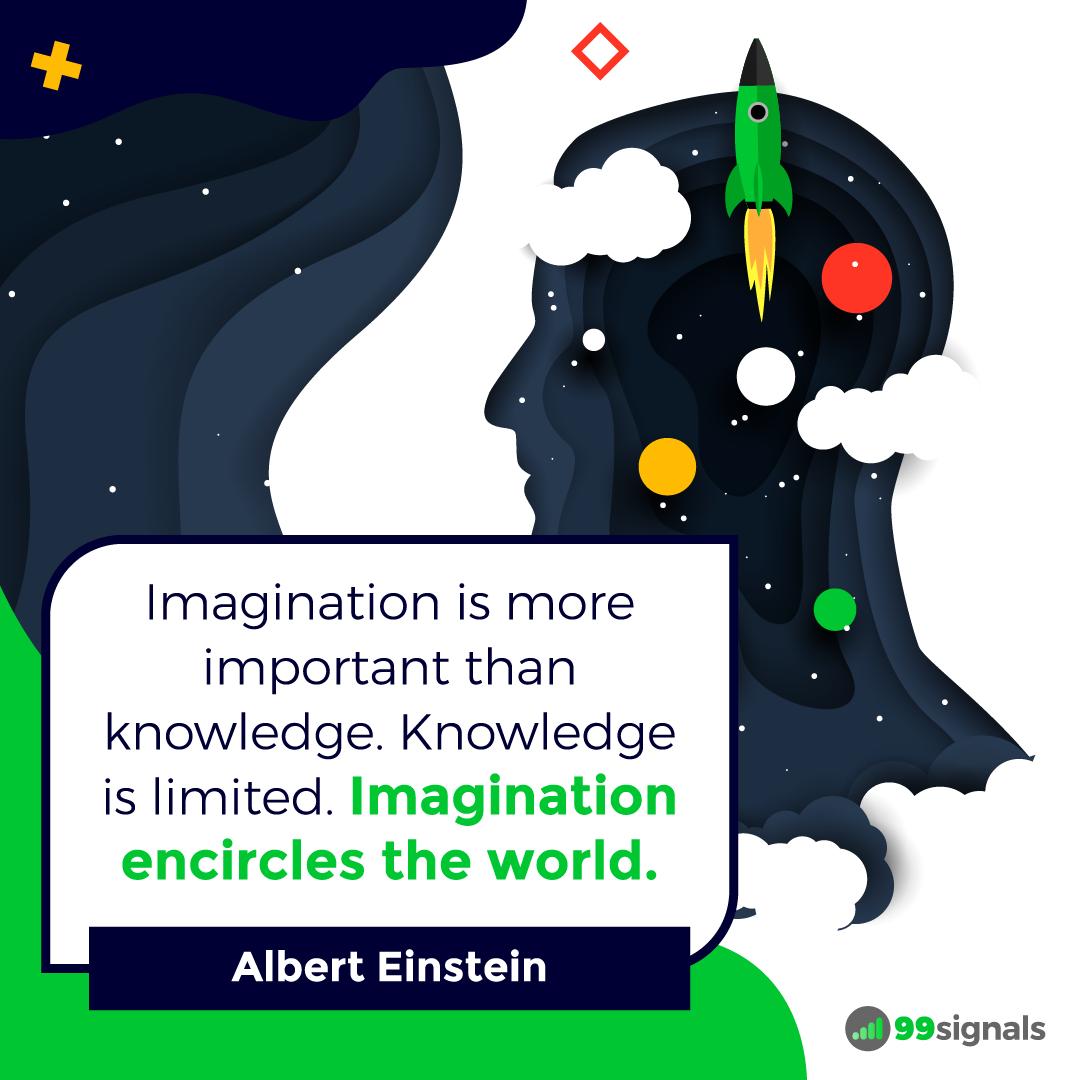 Einstein Quote - 99signals