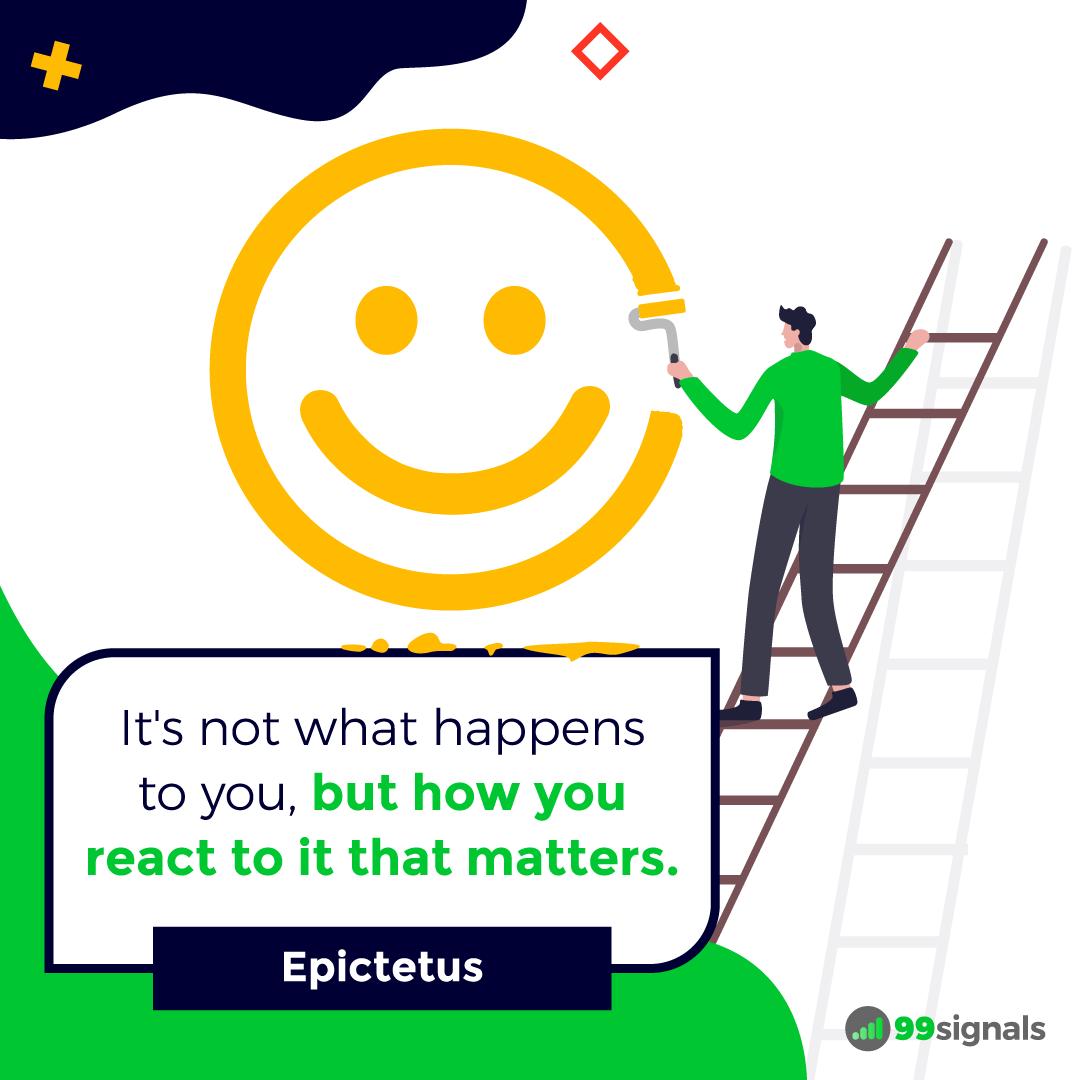 Epictetus Quote - Inspirational Quotes for Entrepreneurs