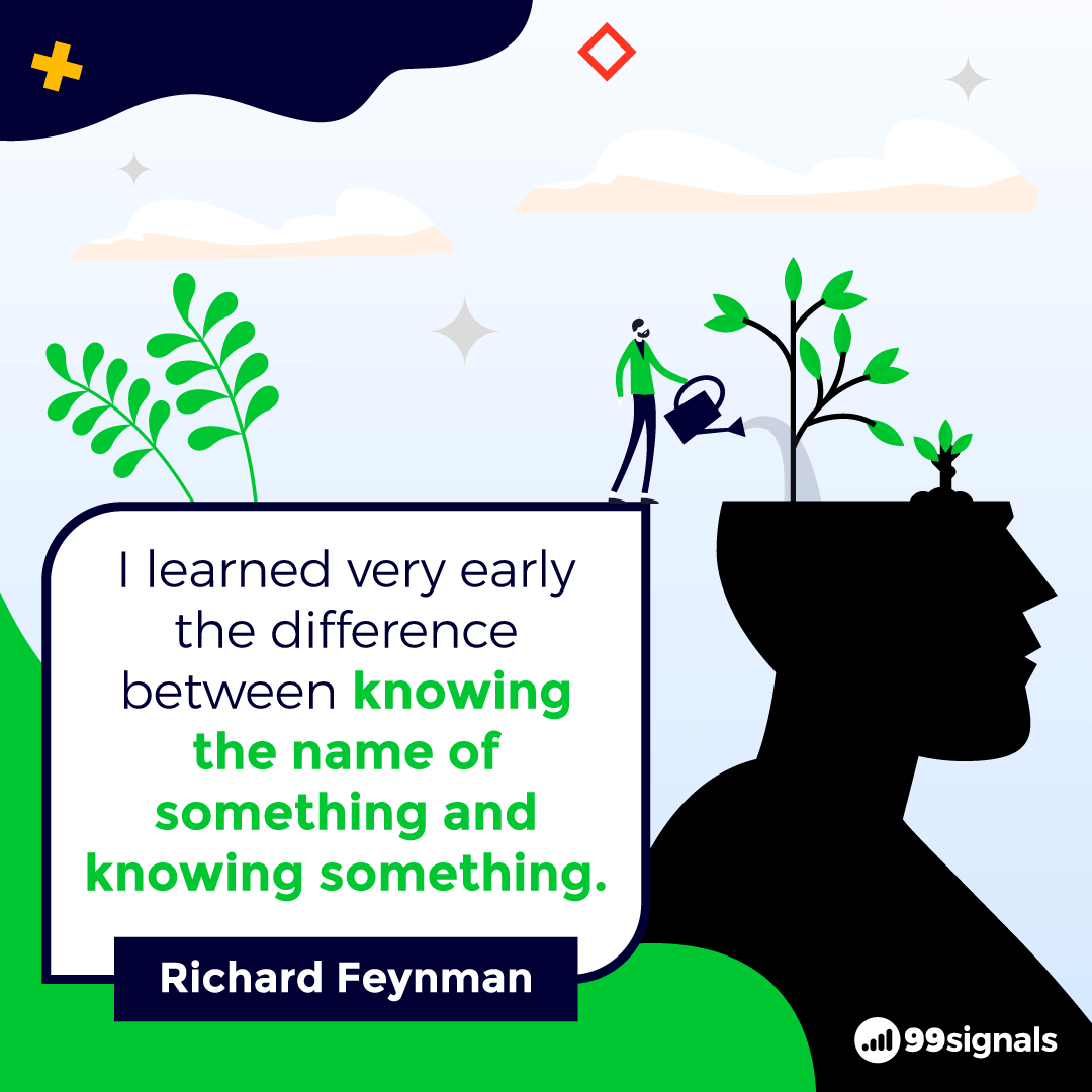 Richard Feynman Quote - Best Quotes for Entrepreneurs