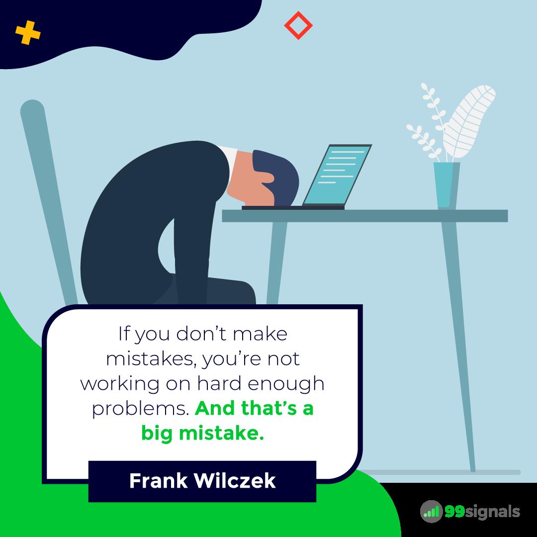 Frank Wilczek Quote - 99signals