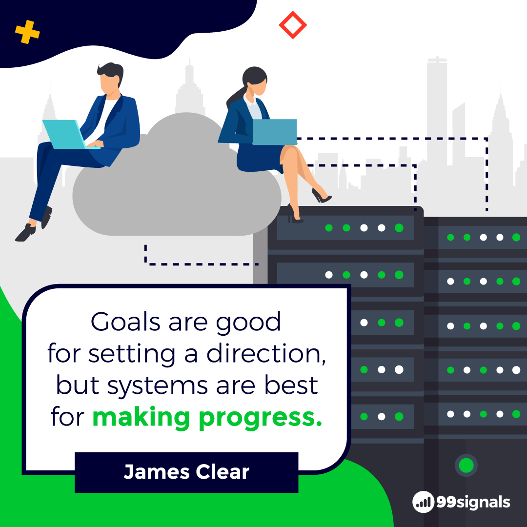 James Clear Quote - Inspirational Quotes for Entrepreneurs