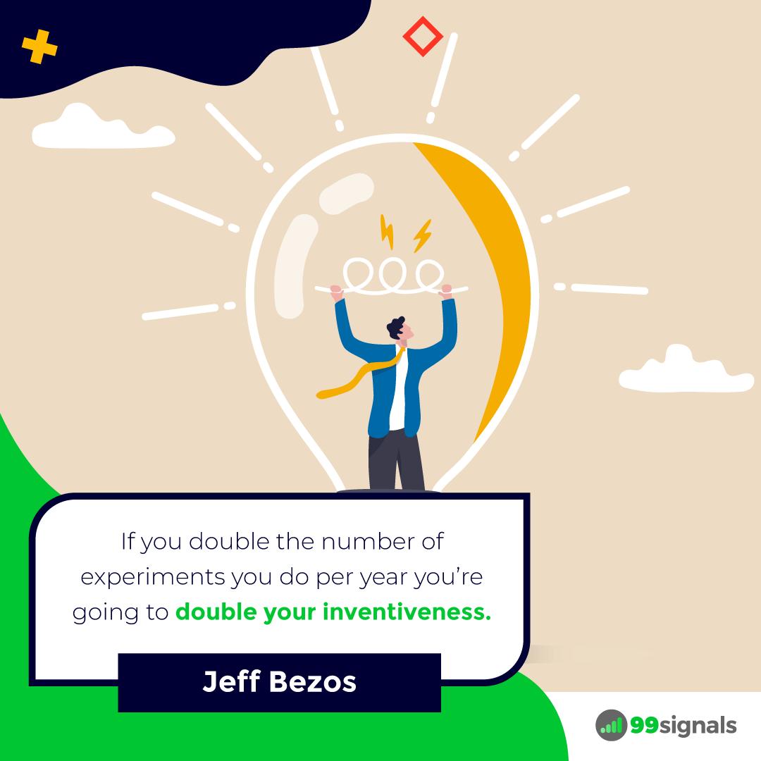 Jeff Bezos Quote - 99signals