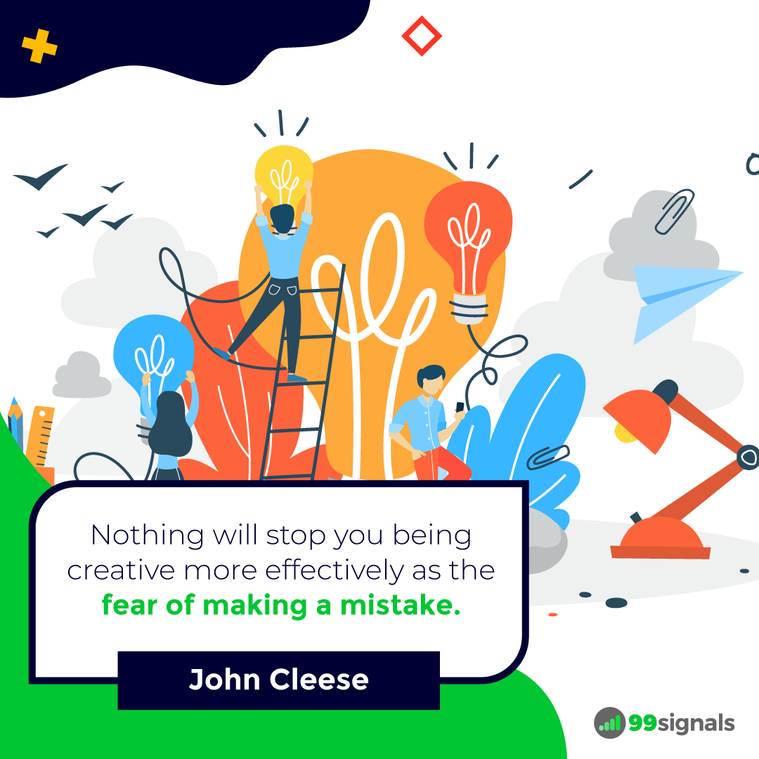 John Cleese Quote - 99signals