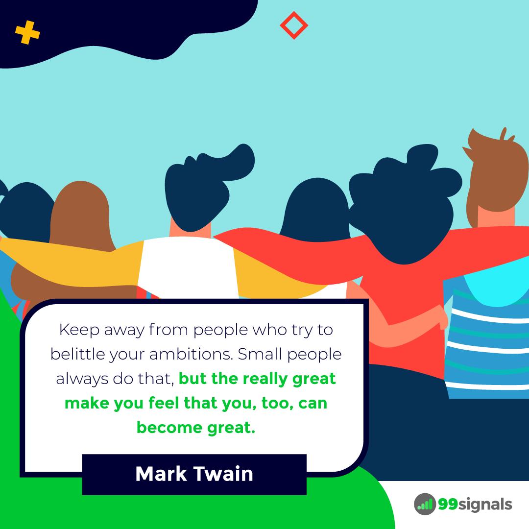 Mark Twain Quote - 99signals