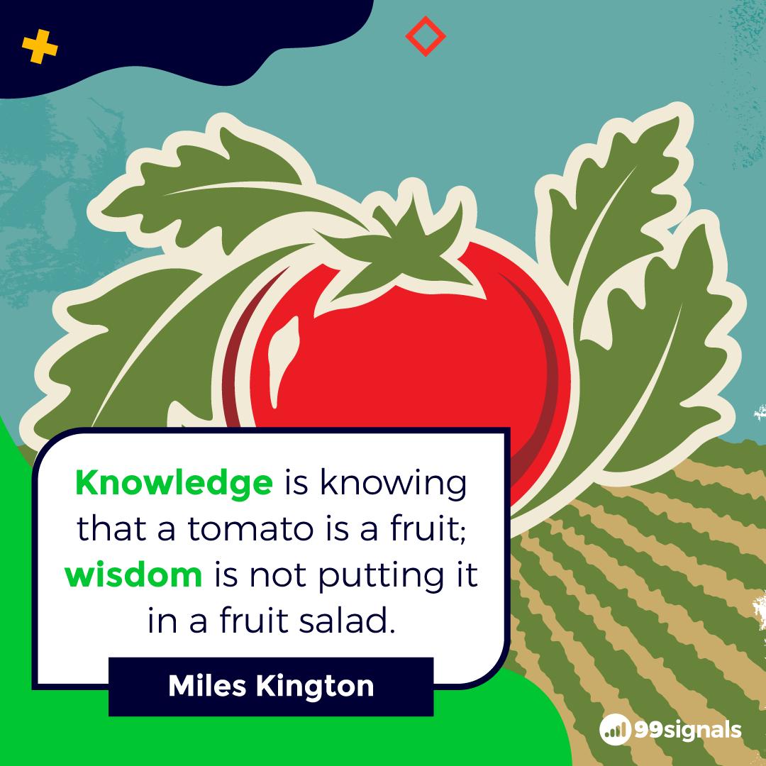 Miles Kington Quote - Best Quotes for Entrepreneurs