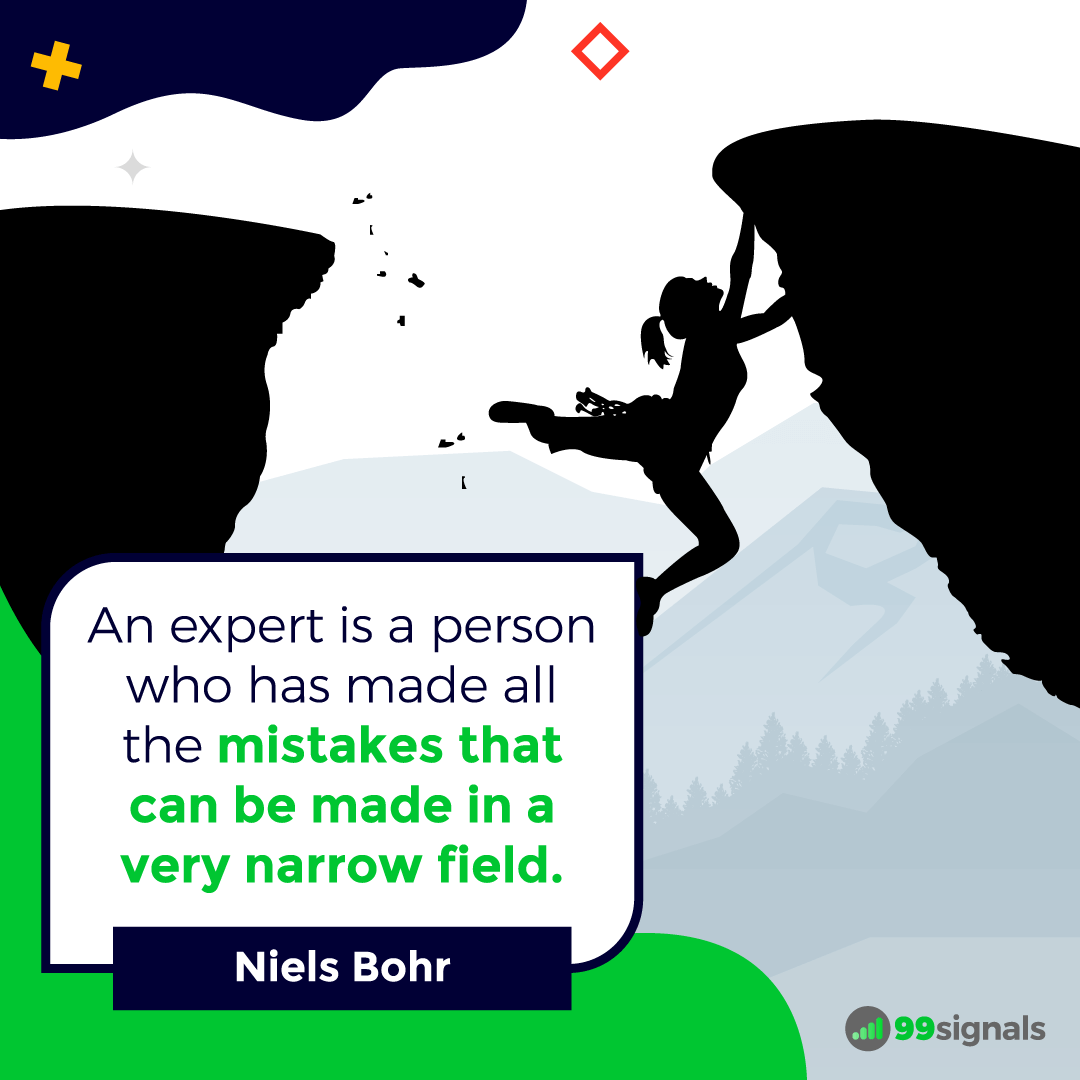 Niels Bohr Quote - Inspirational Quotes for Entrepreneurs