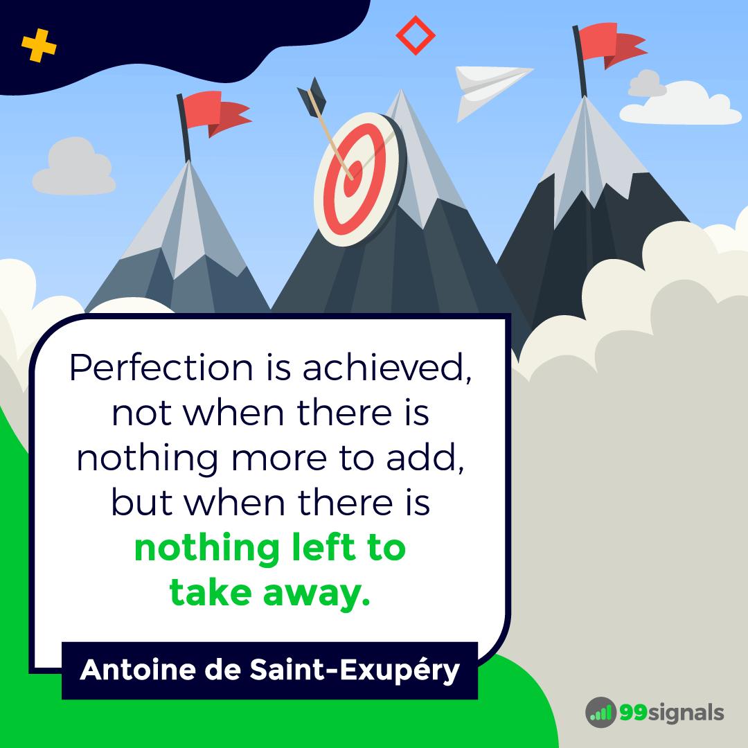 Saint-Exupery Quote - Motivational Quotes for Entrepreneurs
