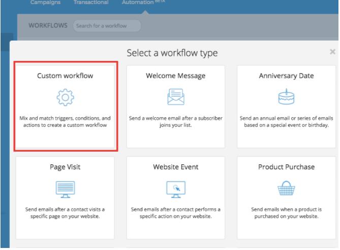 Sendinblue Workflows