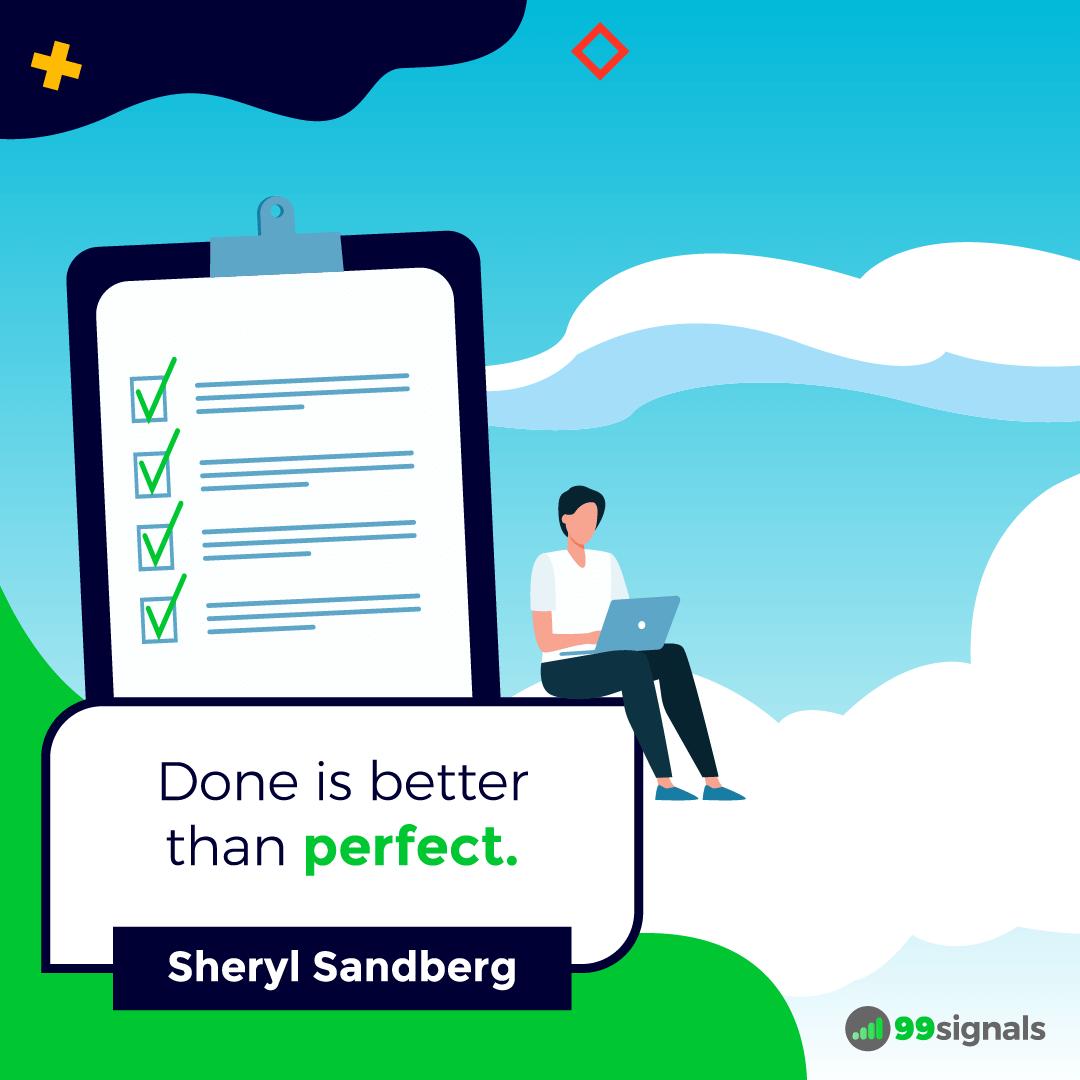 Sheryl Sandberg Quote - 99signals