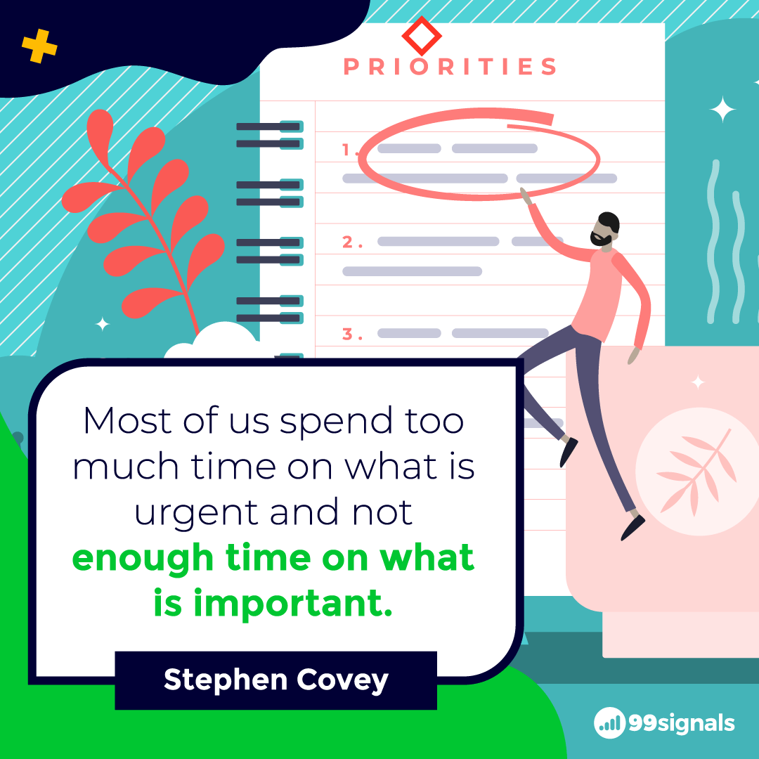 Stephen Covey Quote - 99signals