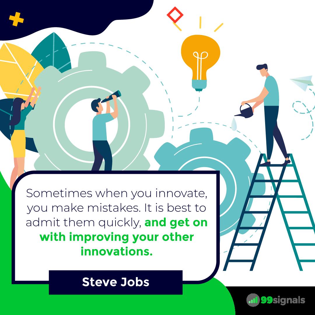 Steve Jobs Quote - 99signals