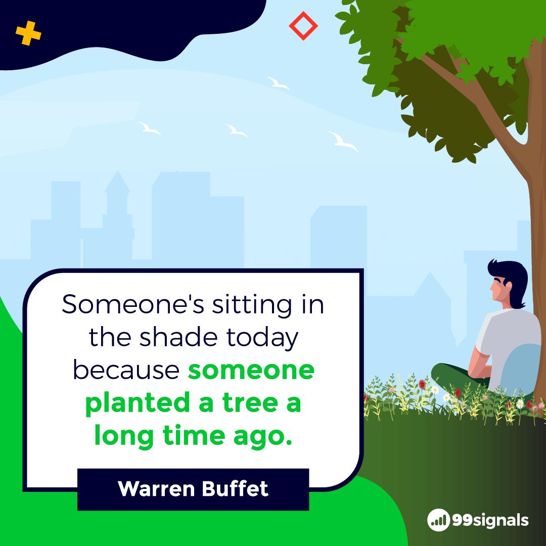 Warren Buffet Quote - 99signals
