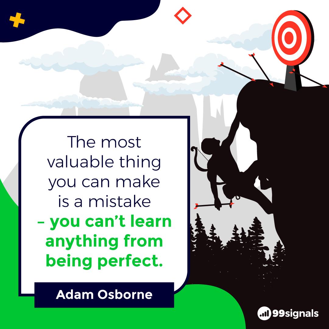 Adam Osborne Quote - Inspirational Quotes for Entrepreneurs