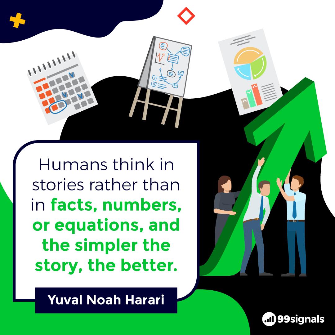 Yuval Noah Harari Quote - Inspirational Quotes for Entrepreneurs
