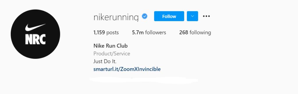 Nike Instagram