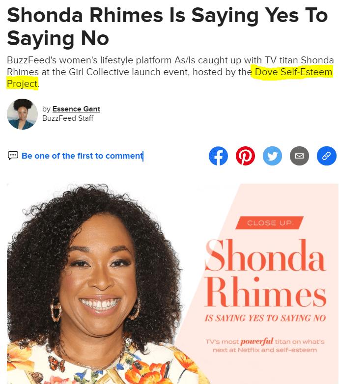Shonda Rhimes Ad