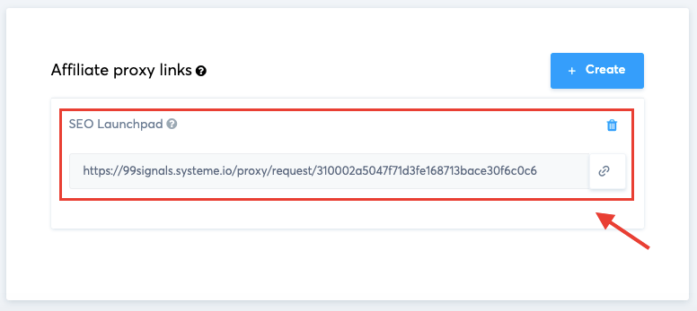 Systeme.io Affiliate Proxy Links