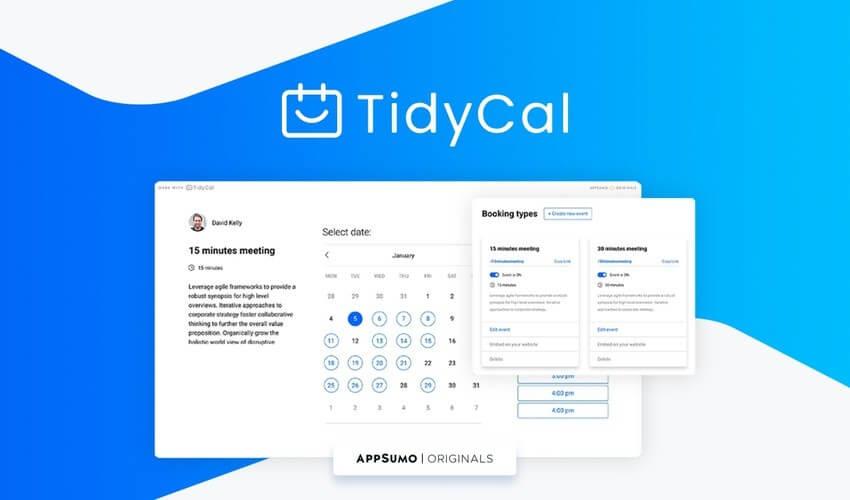 TidyCal AppSumo Deal