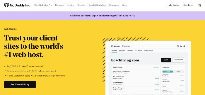 GoDaddy Web Hosting - Best Web Hosting Plans for Bloggers